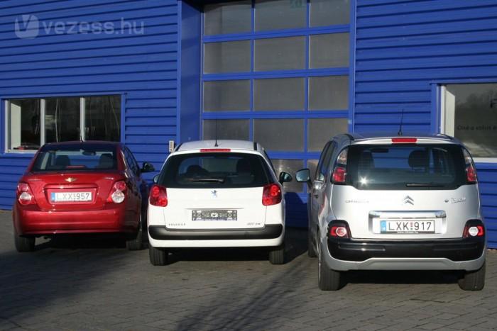 Sokkal temperamentumosabb a franciák BMW-tervezésű benzinese, mint az Aveo az Opeltől örökölt motorral