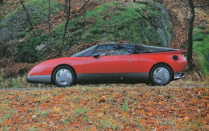 Saab EV1 rém a 2+2 üléses sportkocsi proto. 270-volt a vége