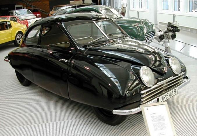 SAAB 92001, azaz Ursaab a Saab Múzeumban