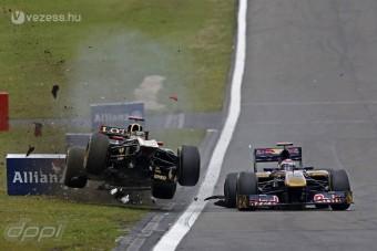 F1: Az év legütősebb balesetei