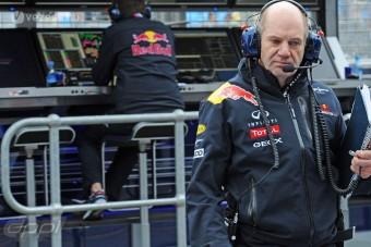 F1: Uralkodói elismerés a Red Bull-tervezőnek