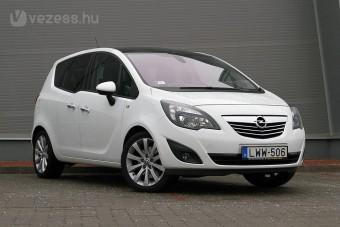 A világ legszebb szekrénye: Opel Meriva