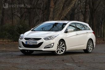Sok pénzért jó autó: Hyundai i40
