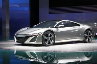 Új sportkocsi a Hondától