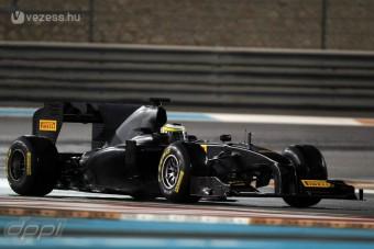 F1: A Pirelli bajban a tesztautóval