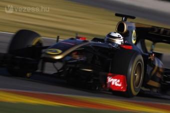 F1: Képek Räikkönen tesztjéről