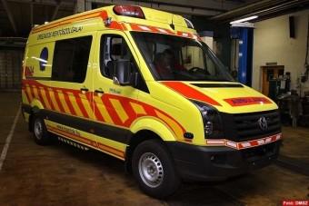 Hétfőn kezdenek az új mentőautók