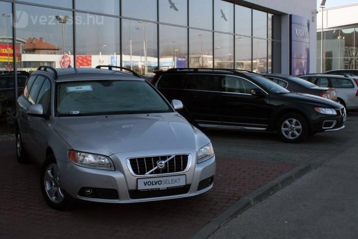 Tavaly 440 000 használt autó cserélt gazdát hazánkban, ebből 5920 Volvo