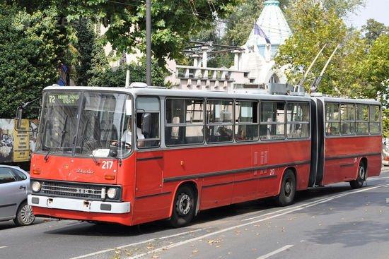 A tömegközlekedési járművek közül a trolik átlagkora az egyik legkevesebb: 21 év
