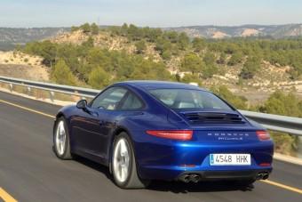 Porsche 911 - Mindig van följebb