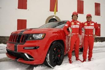 Ferraris terepjáró Alonsónak