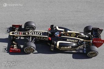 F1: Minden kategóriát bedarál a Lotus