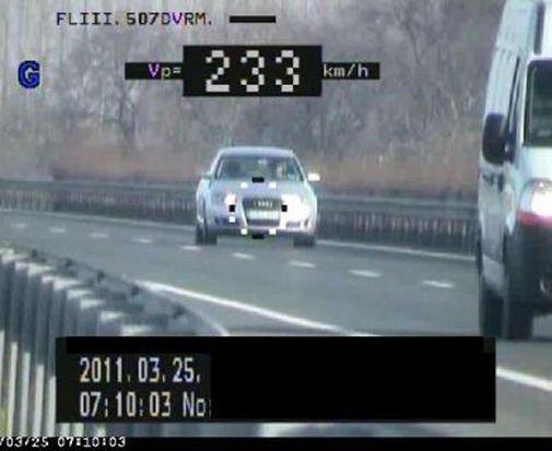 Civil külsejű, rendőrségi vezetők által használt járműveket is lefotózhat az automata - Képünk illusztráció
