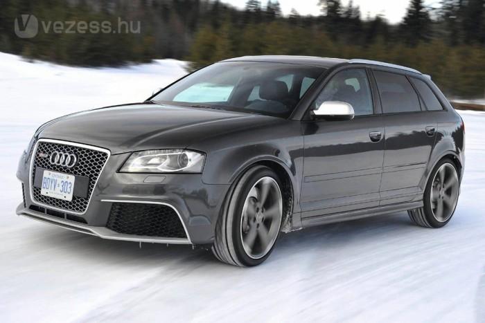 Jelenleg az RS3, a TT és az A3 Cabrio készül a magyar Audi-leányvállalatnál