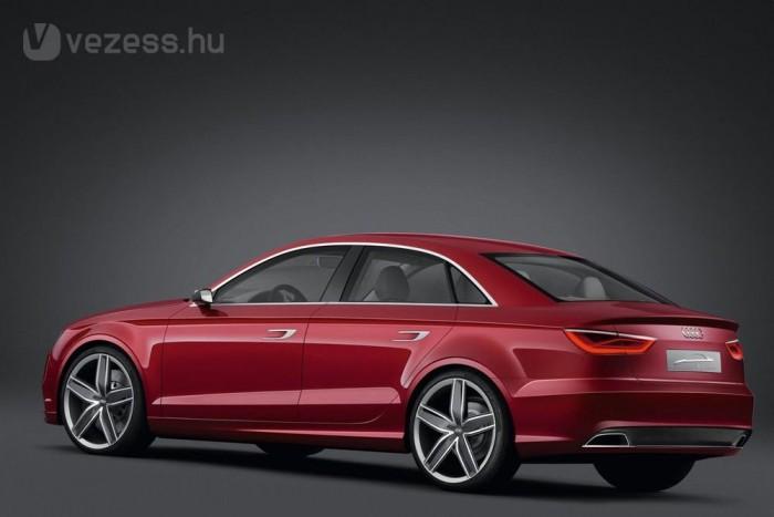 Az A3 szedánnal teljes autógyárrá bővül a győri Audi