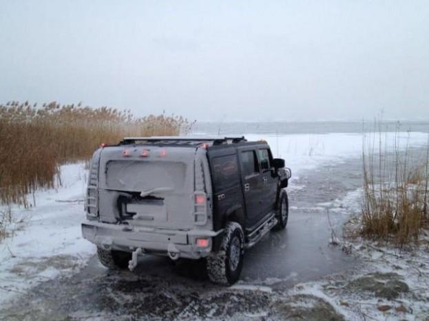 Magasabb hőmérsékletű vízben pont ugyanolyan károsodások érnék az autót, mint a mostani zimában