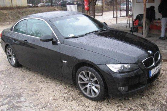 2008-as BMW 320d kabrió ötmilliótól