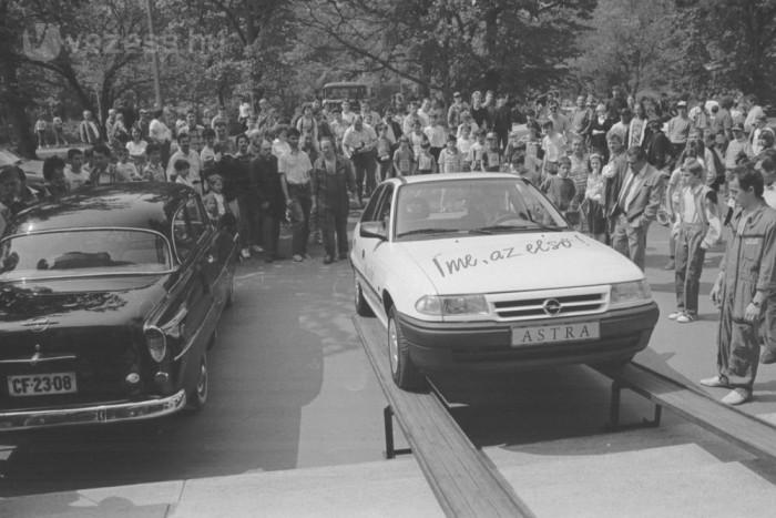 1992-ben a Közlekedési Múzeumba került a történelmi Astra