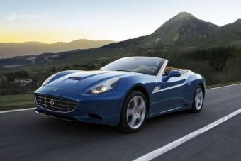Erősebb, gyorsabb Ferrari California