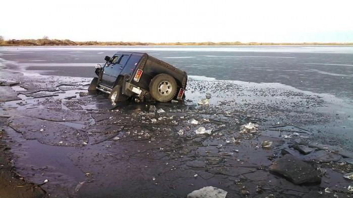 Ez a tél a Hummer és a jég harcaként marad meg emlékezetünkben