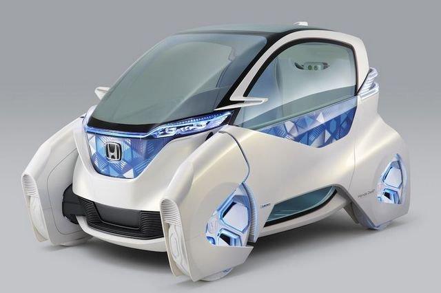 Micro Commuter; a Honda elektromos ingázó-járművének koncepciója