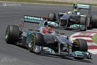 F1: Rosberg szívesen maradna Schumacherrel