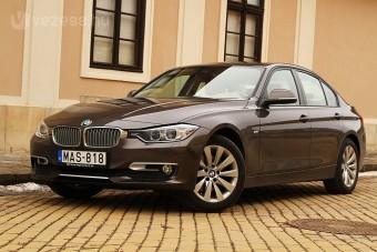 BMW 320d: brutalitás és finomság