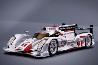 Verseny-hibrid az Auditól