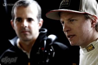 F1: Räikkönen vitte az utolsó tesztnapot