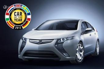Az Opel Ampera a 2012-es Év Autója