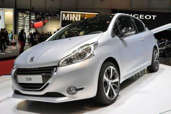 Peugeot 208: Genf francia sztárja