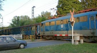 Kalauz karambolozott vonattal