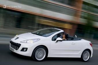 Eltűnő modellek a Peugeot-nál
