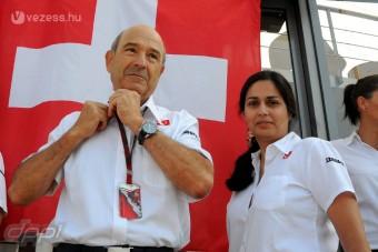 F1-történelmet ír a Sauber