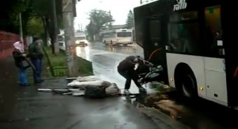 A bukaresti buszsofőrök türelme végtelen