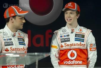 F1: Kihagyja a tesztet Button és Hamilton