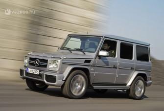 Brutális terepjárók a Mercedestől