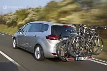 Még jobb kerékpárszállítók az Opeltől