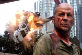 Bruce Willis miatt lezárás Budapesten