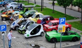 Alternatív járművek versenye Győrben