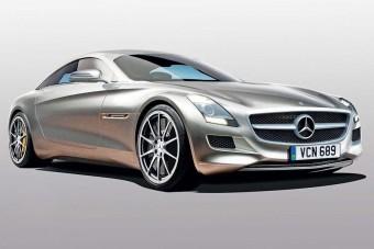 Kis sportkocsit tervez a Mercedes
