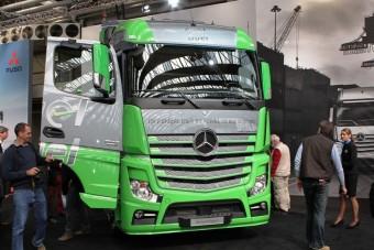Haszonjármű-kiállítás Amszterdamban