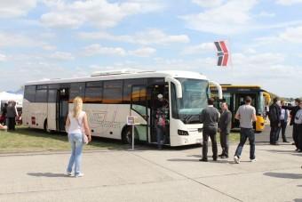 Új magyar busz kis keréken