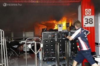 F1: Kósza szikra miatt égett a Williams