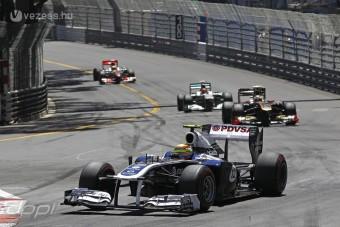 F1: A Williams nem készül monacói győzelemre