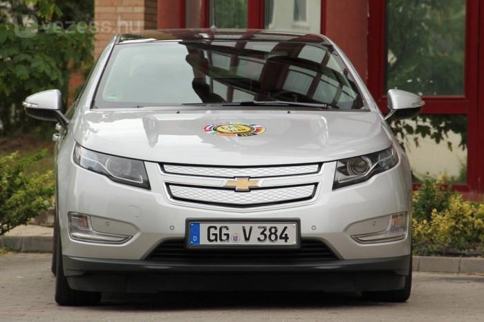 Hazai teszt: Chevrolet Volt