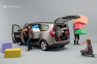 2,5 millióba kerül az új, nagy Dacia