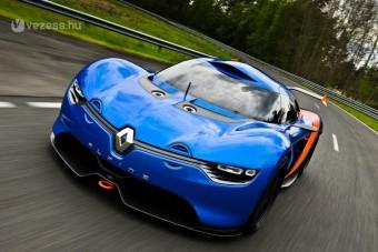 Renault sportkocsi 400 lóerővel
