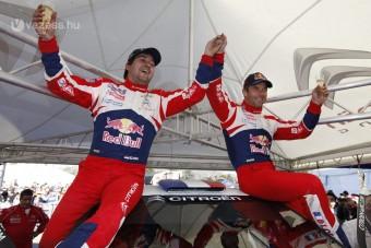 Sebastien Loeb nyerte a Görög-ralit