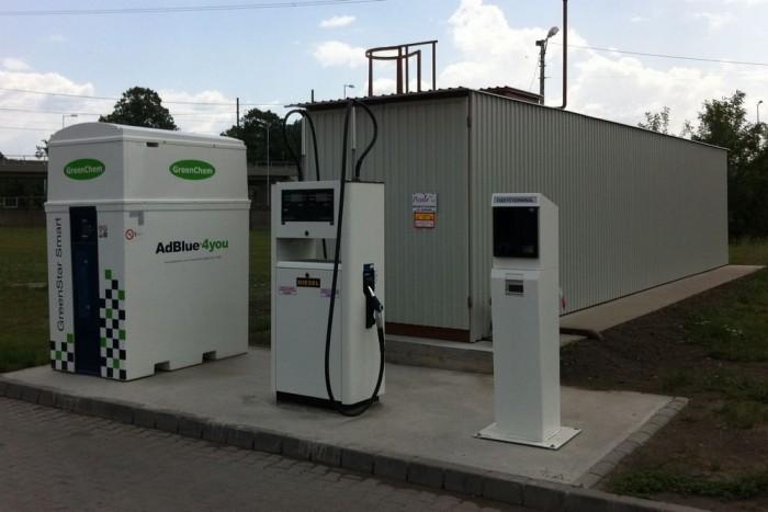 Hitelesített lefejtő rendszer a szennyeződés-mentes AdBlue forgalmazásához
